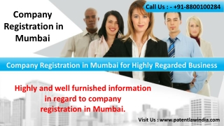 Company Registration in Mumbai