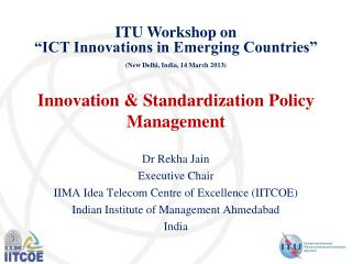 Innovation  Standardization Policy Management