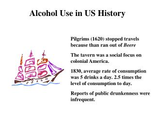 Alcohol Use in US History