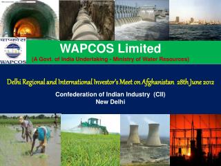 Delhi Regional and International Investor s Meet on Afghanistan  28th June 2012   Confederation of Indian Industry  CII
