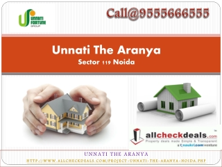 Unnati The Aranya –Fully Furnished Apartments - Sector 119 N