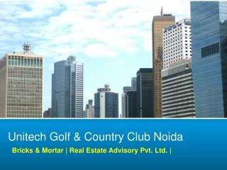 Unitech Noida, 9560297005 Unitech Golf & Country Club Noida