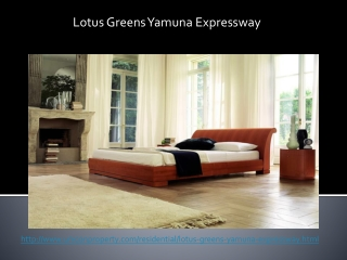 Lotus Greens Yamuna Expressway Luxury Project