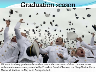 Graduation season