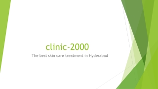 Advanced Pimples treatment in Hyderabad