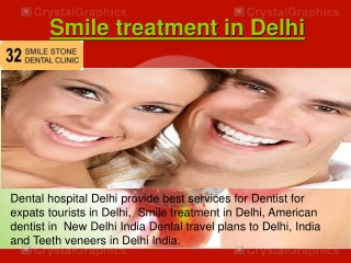 Smile treatment in Delhi