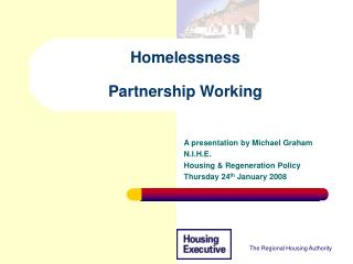 homelessness  partnership working