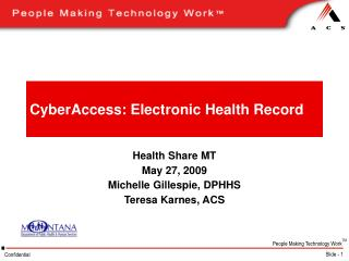 CyberAccess: Electronic Health Record