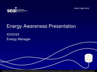 Energy Awareness Presentation