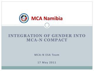 MCA Namibia