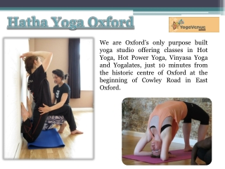 Yoga Classes In Oxfordshire