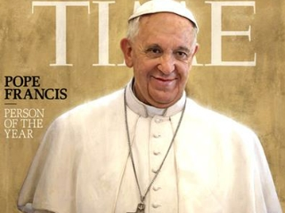 Pope Francis named Time magazine's Person of the Year 2013