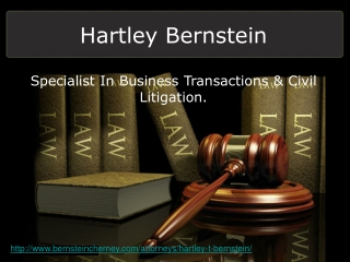 Hartley T. Bernstein - Partner at Bernstein Cherney LLP