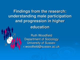 Findings from the research: understanding male participation and progression in higher education
