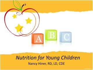 Nutrition for Young Children
