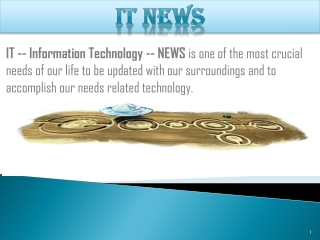 Technology is being developed daily by daily, in fact hourly