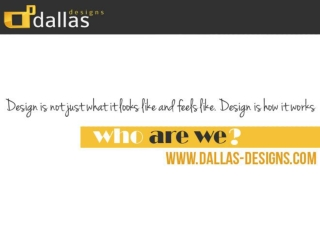 Dallas Designs Texas