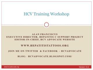 HCV Training Workshop