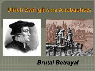 Ulrich Zwingli  the Anabaptists