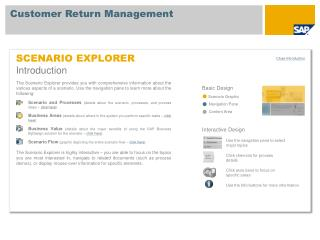 SCENARIO EXPLORER Introduction