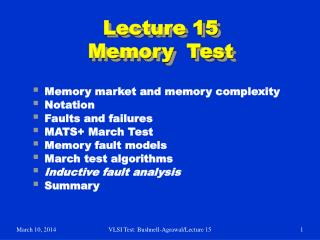 lecture 15 memory  test