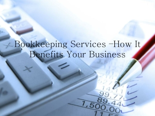 Reasons to Avail Professional Book Keeping Service