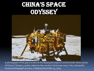 China's space odyssey