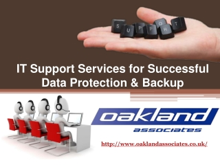 IT Support Services for Successful Data Protection