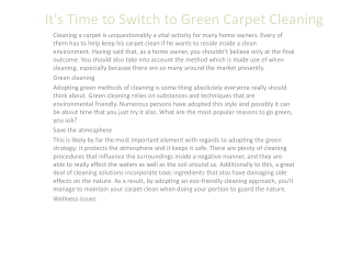 carpet cleaning oakland