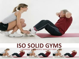 Rehabilitation Equipments in Delhi from ISO Solid Gyms