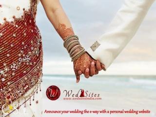 Wedding Website India