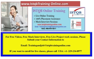 Latest ISTQB Certification Interview Questions