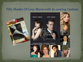 fifty Shades star updates