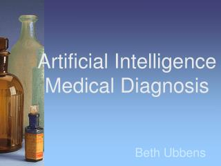 Artificial Intelligence Medical Diagnosis