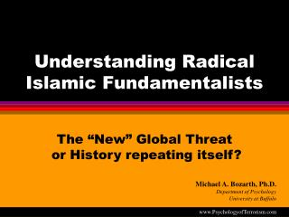 understanding radical islamic fundamentalists