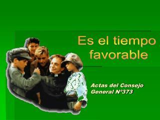 Actas del Consejo General N 373