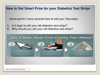 Money For Diabetic Test Strips