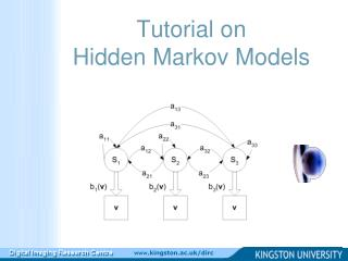 Tutorial on Hidden Markov Models