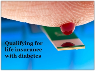 Qualifying for Health Insurane With Diabetes