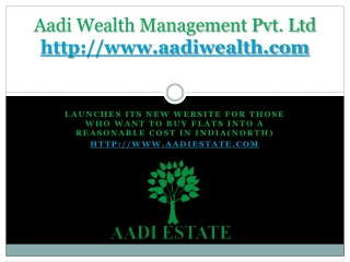 Aadi Wealth | Aadi Estate Adviser Private Limited