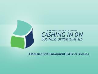 Assessing Self Employment Skills for Success