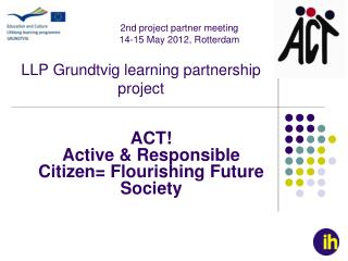 LLP Grundtvig learning partnership project