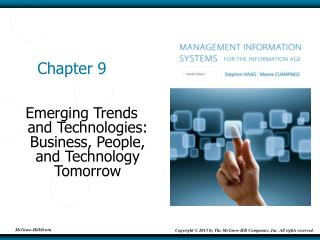 Emerging Trends and Technologies: Business, People, and Technology Tomorrow