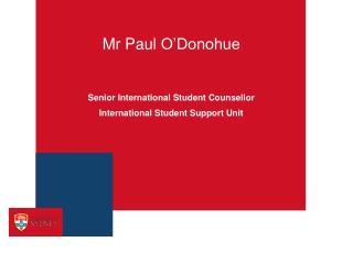 Mr Paul O Donohue