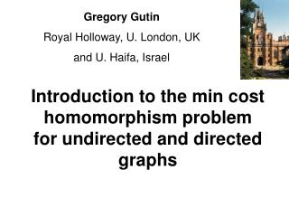 Introduction to the min cost homomorphism problem for undirected and directed graphs