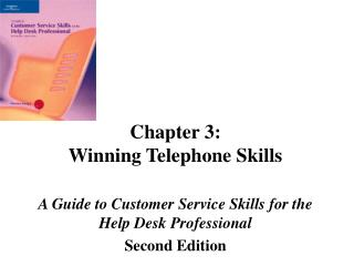 Chapter 3: Winning Telephone Skills