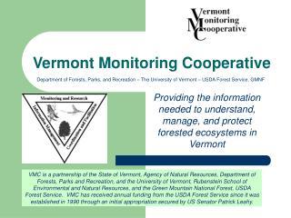 Vermont Monitoring Cooperative