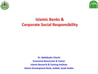 Islamic Banks   Corporate Social Responsibility