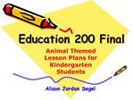 Education 200 Final