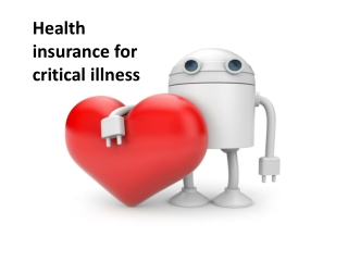 Health Insurance For Critical illness